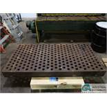 """36"""" X 72"""" X 6"""" THICK ACORN WELDING TABLE ** NO STAND **"""