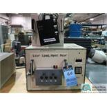 "SUN ELECTRIC MODEL ECO1 TEST CHAMBER; S/N C1559, CHAMBER DIMENSIONS: 12"" LR X 11"" FB X 11"" HIGH,"
