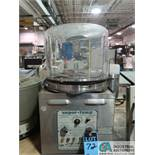 BLUE M ELECTRIC MODEL VP-100 CONTROLLED RELATIVE HUMIDITY CHAMBER; S/N A-609, TEMP. RANGE TO 170