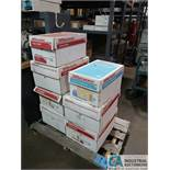 """(LOT) SKID OF PHOTO COPY PAPER; (5) BOXES OF 8-1/2"""" X 14"""" AND (2) BOXES OF 11"""" X 17"""""""