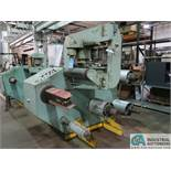 "MICRO-TOOL MODEL T-236 FOIL ASSEMBLY WINDING MACHINE, (3) 14"" WIDE PAY-OFF MANDRELS, 14"" PAPER"