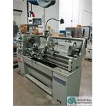 "14"" X 40"" SHARPE MODEL 1440F TOOLROOM LATHE; S/N 23956, 6"" 3-JAW CHUCK, TAILSTOCK, STEADY REST, 45 -"