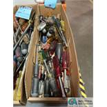 (LOT) (2) BOXES OF SCREWDRIVERS