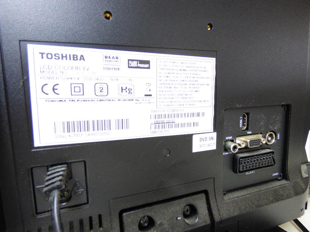 Lot 57 - BUSH & TOSHIBA TVs