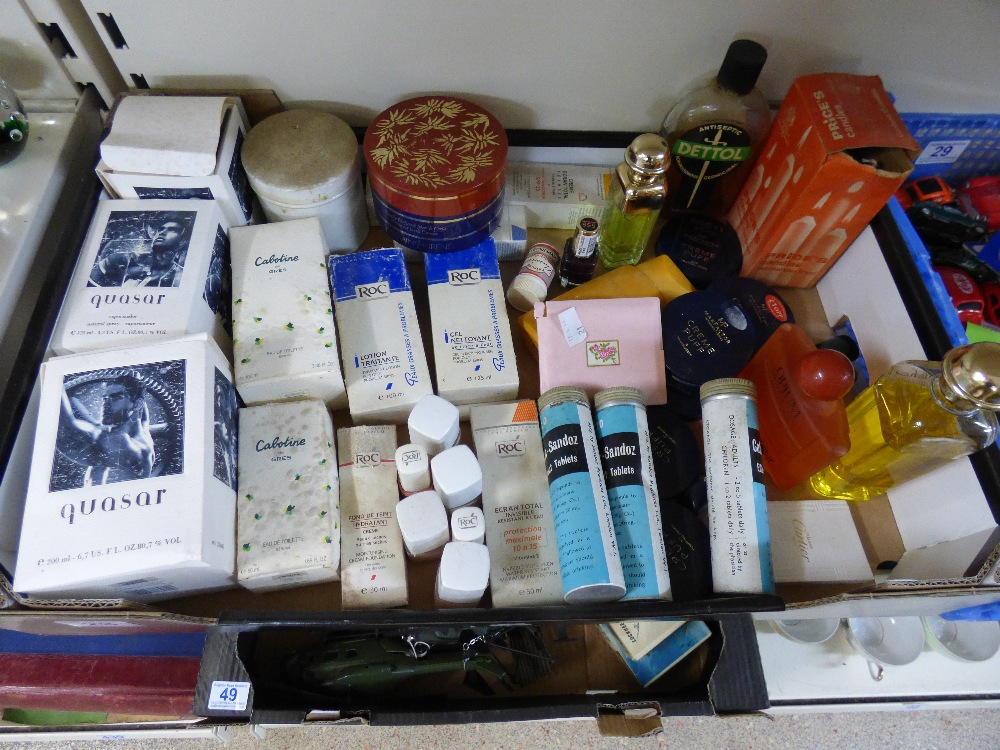 Lot 28 - QUANTITY OF TOILETRIES & COSMETICS PRODUCTS & DISPLAY PACKAGING INCLUDING YVES SAINT LAURENT
