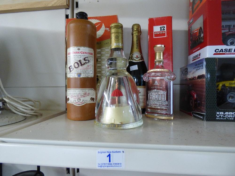 Lot 1 - QUANTITY OF ALCOHOL INCLUDING SAKE & BOLS