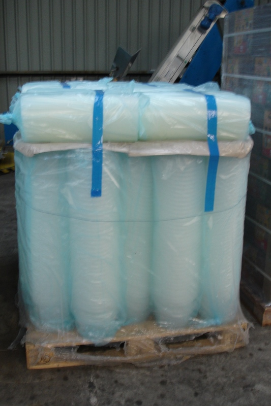 Lot 26 - Food Grade 5 litre Clear Plastic Tubs/Buckets with handles and Tamper Evident Lids.