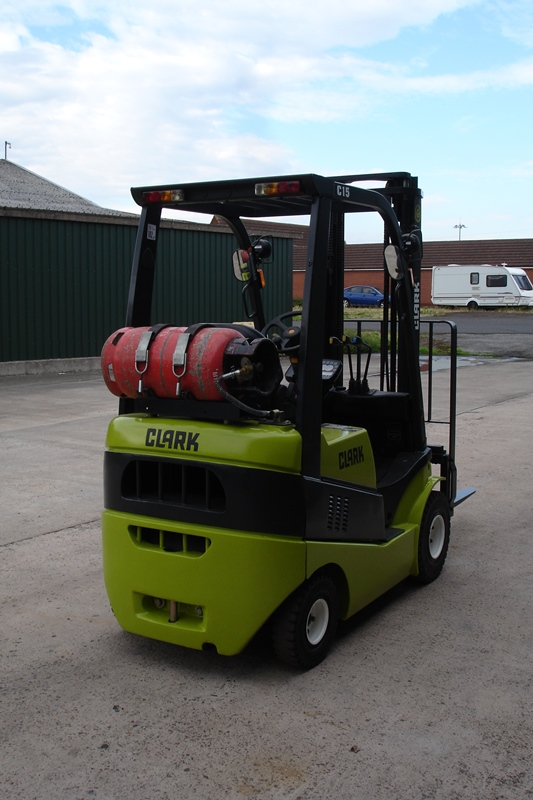 Lot 5 - Clark 1.5 Ton Forklift (2014)