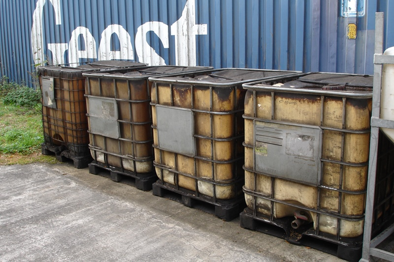 Lot 58 - 4 x IBC's previously used for Red Diesel