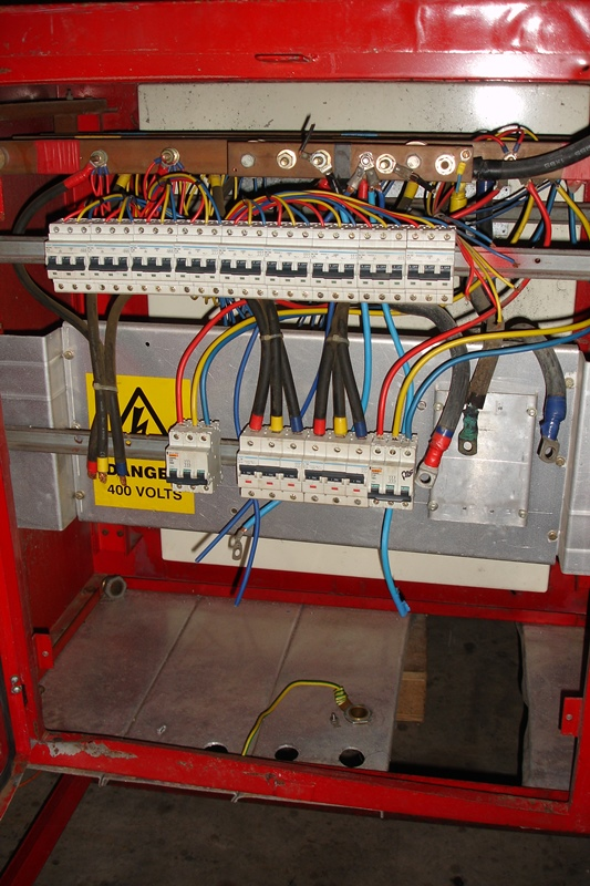 Lot 45 - ABIRD High voltage Switch/Isolator Panel