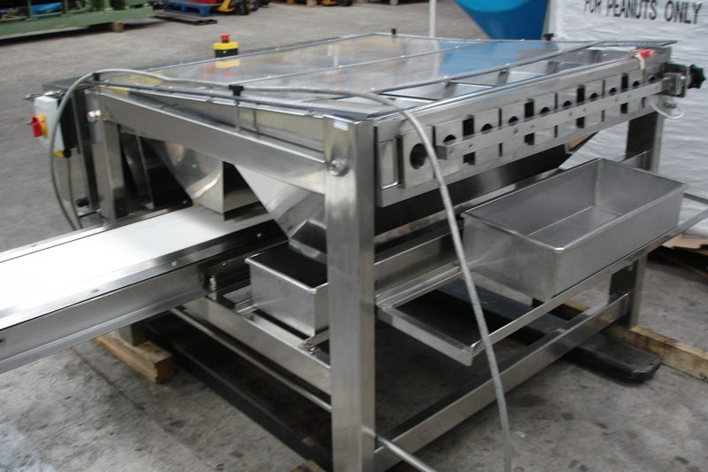 Lot 34 - Fully Stainless Steel food grade 5 lane Grading/Sizing Machine