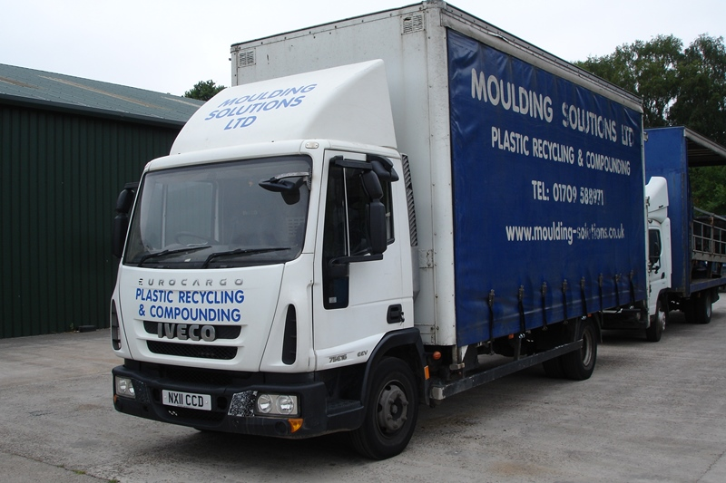 Lot 49 - Iveco EEV 75 E16 7.5ton curtain sided truck with tail-lift