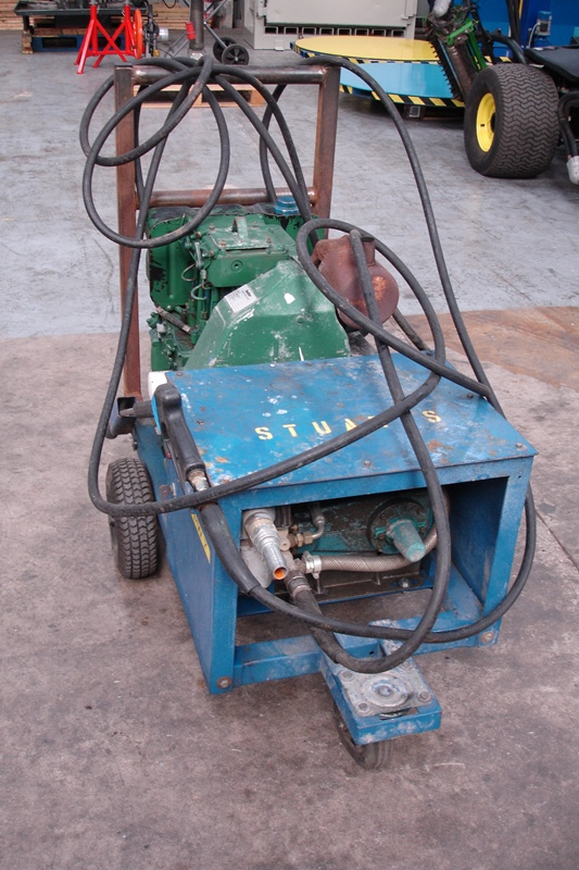 Lot 24 - Mobile Heavy Duty Diesel Powered Pressure Washer