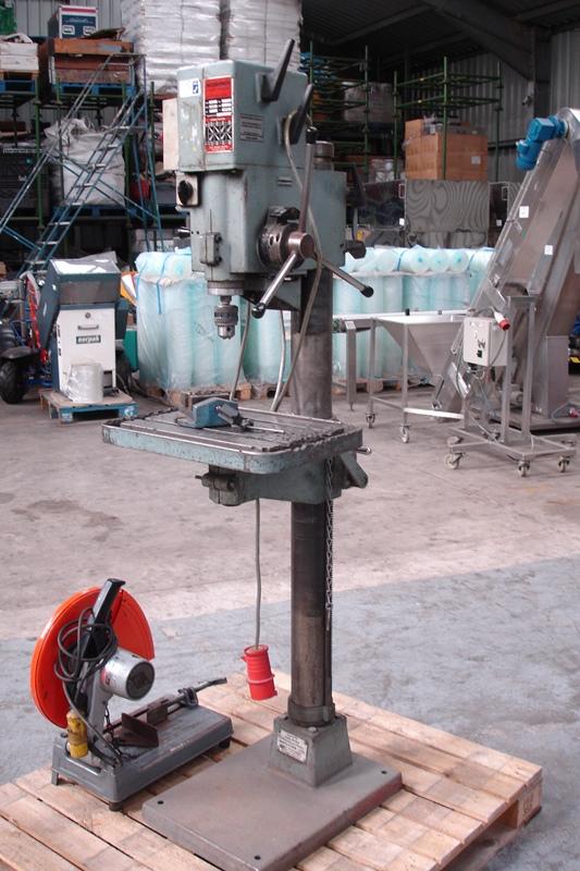 Lot 30 - Meddings Heavy Duty Geared Pillar Drill