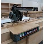 "DELTA 10"" MOD. 33-830C RADIAL ARM SAW C/W STAND"