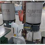 CRAFTEX CX402 2 BAG DUST COLLECTOR, 1PH