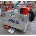 UNIQUE MOD. 313 MITERED DOOR MACHINE S/N 091401144, 5HP/240V/3PH