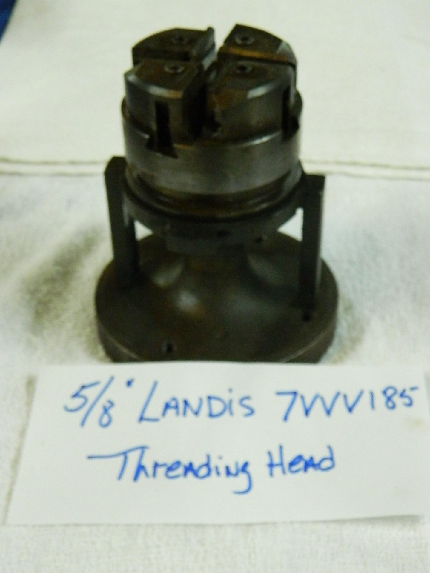 """5/8"""" LANDIS BOLT + PIPE THREADING HEAD, SER# 7VVV185"""