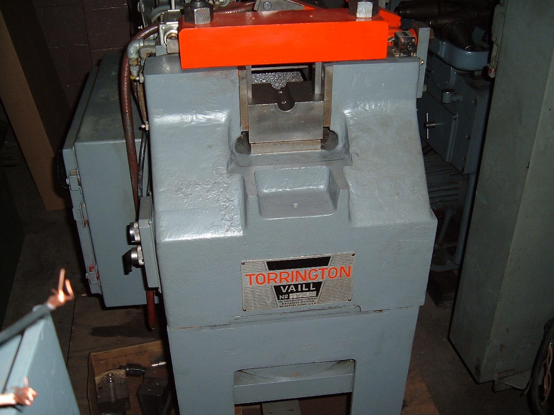 TORRINGTON-VAILL #220 END FORMING MACHINE, MFG-1987, SER# 220-18