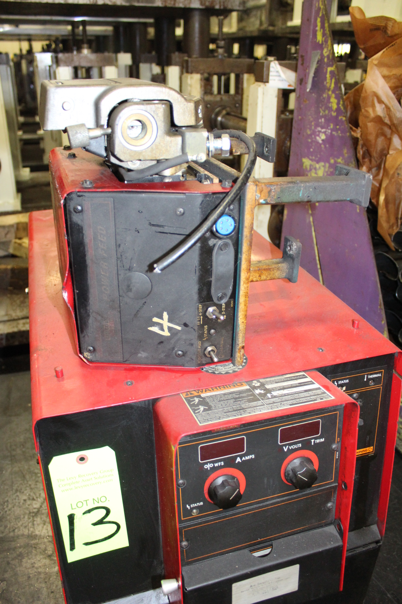Lot 13 - Lincoln Power Wave 455 Welding Power Supply - Angola, Indiana