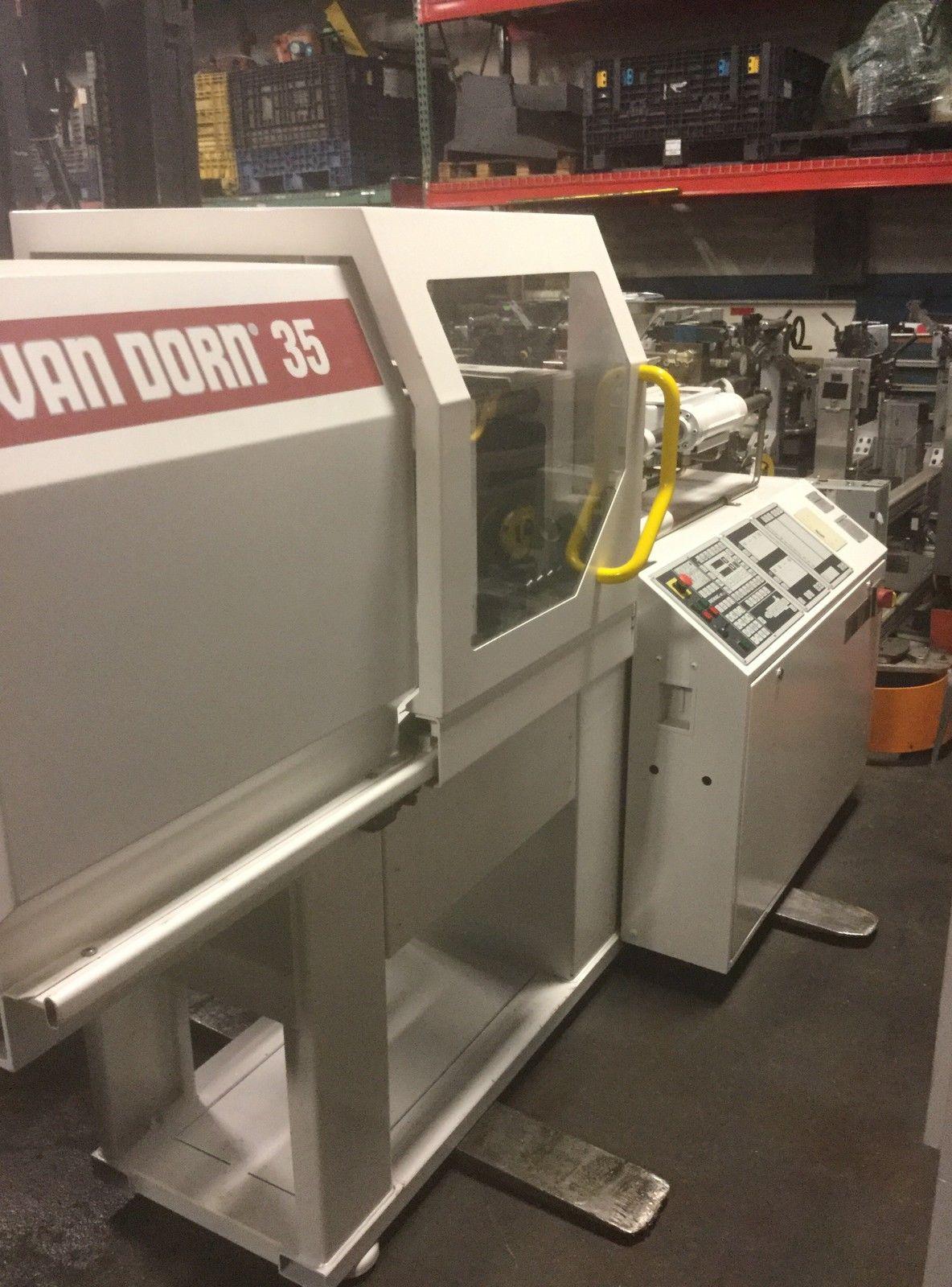 Lot 22 - 1995 Van Dorn Demag 35T ErgoTech 350-115 Plastic Injection Molding Machine - Sterling Heights, MI