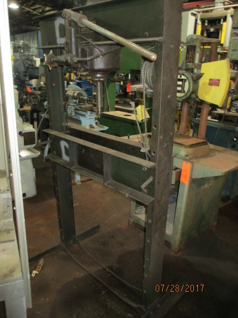 "Lot 56 - Dake ""H"" Frame Press -Dryden, MI"