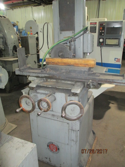 Lot 54 - Reid Model H Hand Feed Surface Grinder - Dryden, MI