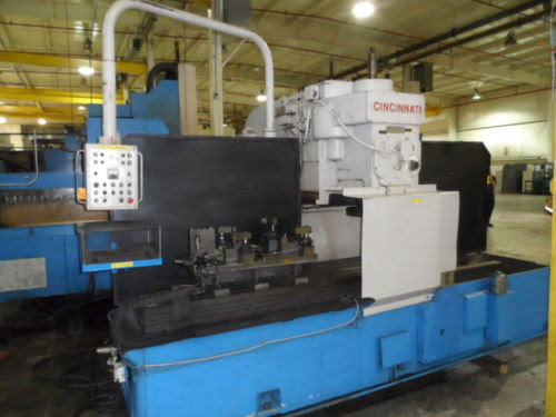 Lot 28 - Cincinnati 500 Series Hypowermatic Vertical Production Mill - Dryden, MI