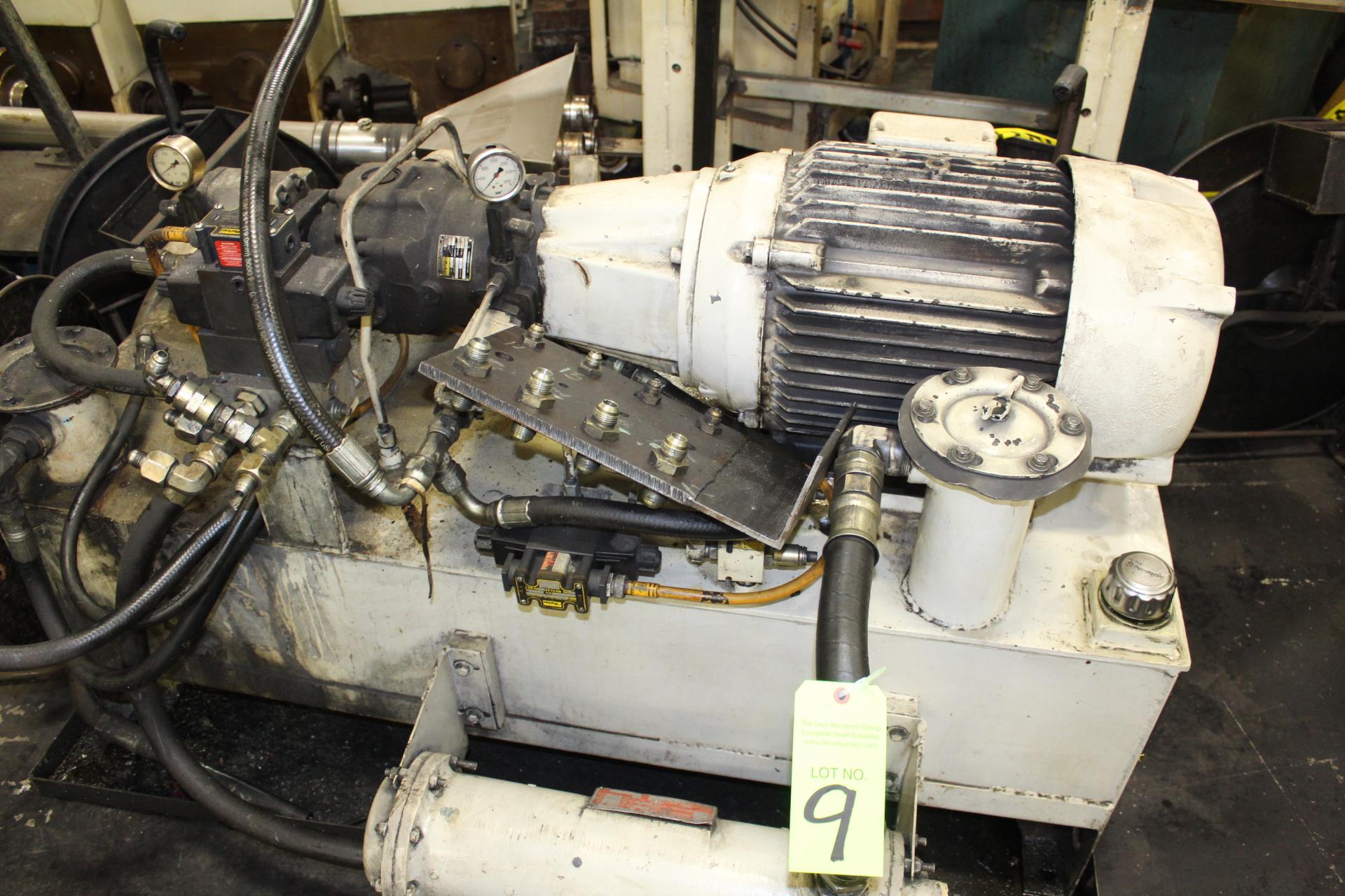 Lot 9 - Estimated 40-Hp Hydraulic Power Unit - Angola, Indiana