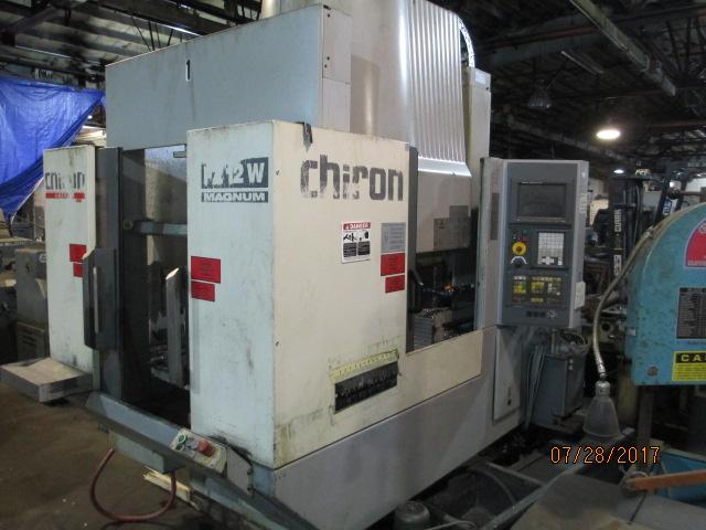 Lot 57 - Chiron Model FZ12 W Magnum Vertical Machining Center - Dryden, MI