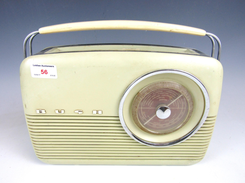 Lot 56 - A vintage Bush radio