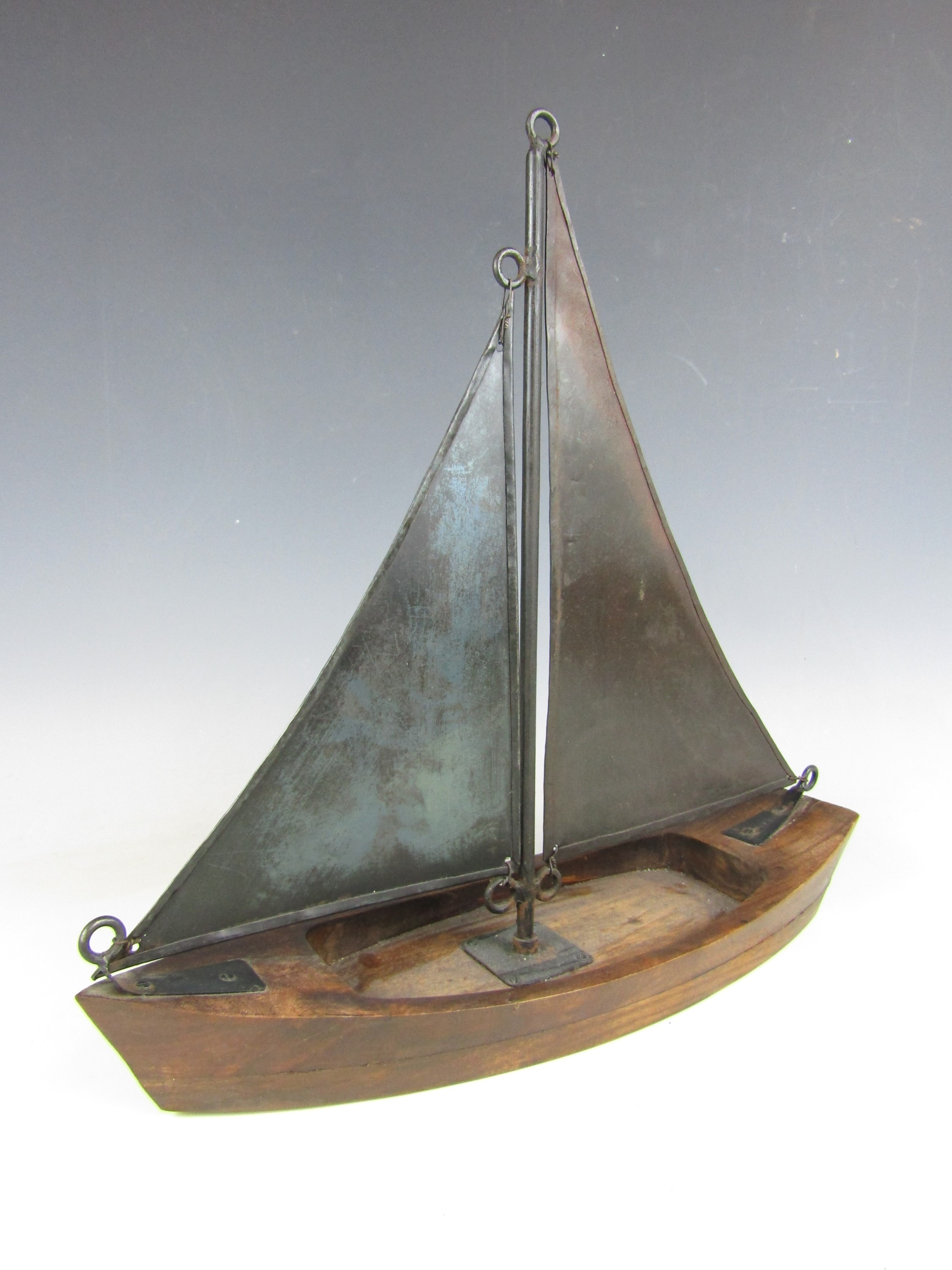 Lot 48 - A contemporary interior decor model of a sail boat