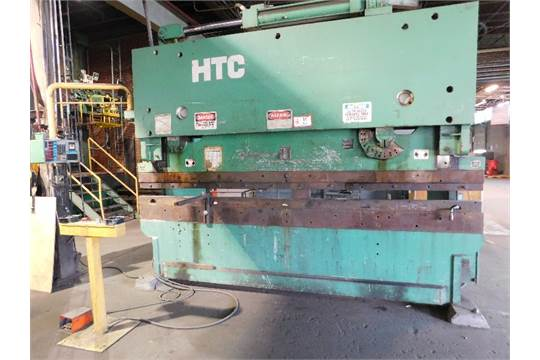 HTC Hydraulic Press Brake, Model 20012PB, 12' width x 200