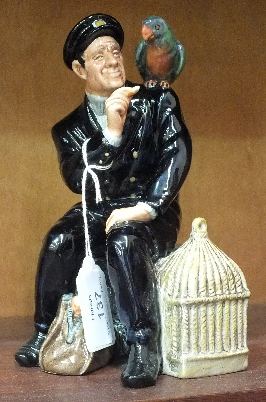 Lot 137 - A Royal Doulton figure 'Shore Leave' HN2254, 9cm high.