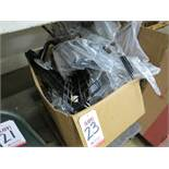 LOT - BOX OF WIRE TRAYS, HARDWARE, ETC.
