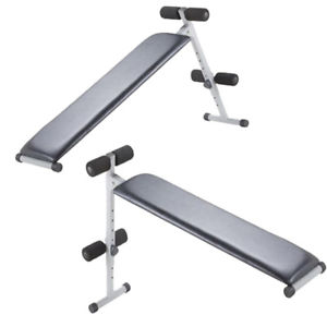 Lot 43043 - V Brand New 2 in 1 Incline/Sit Up Bench - Tesco Price £35.00