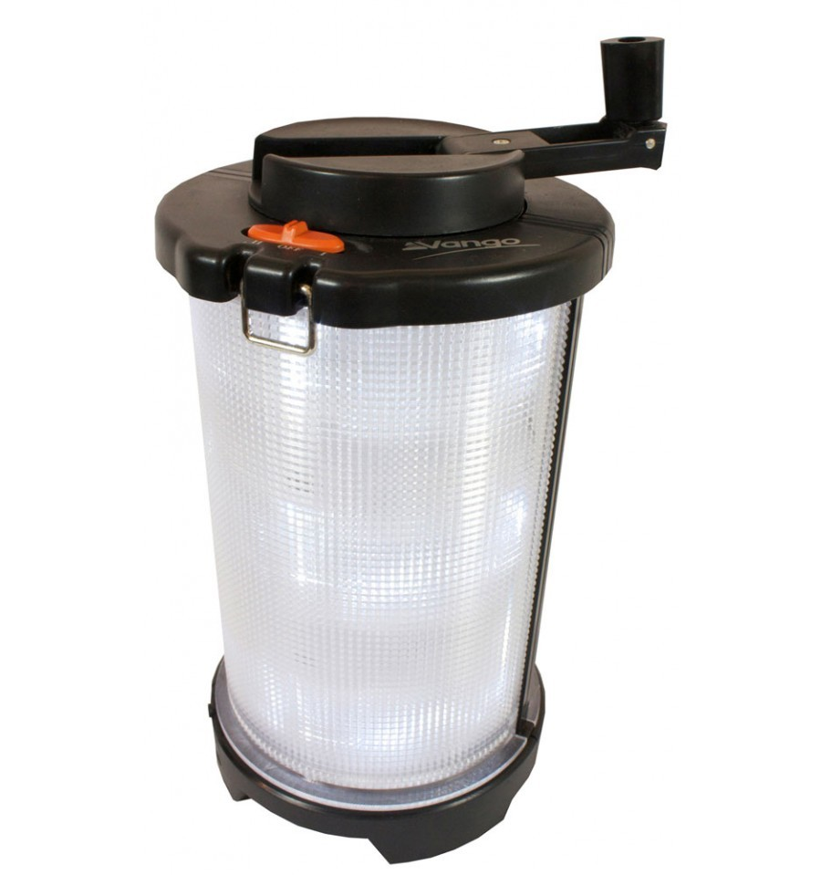 Lot 43019 - V Brand New Vango Rechargable Light Barrel Lantern - RRP £32.60 - Can Charge With Cigarette