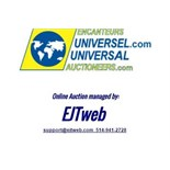 Online auction management provided by EJTweb.com on behalf of Universal Auctioneers