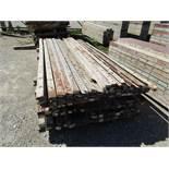 "(66) 1"" x 8'; (24) 2"" x 8'; (31) 2 1/2"" x 8', Symons Steel Ply Forms"