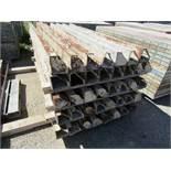 "(30) 6"" x 6"" x 8' Corners Symons Steel Ply Forms"