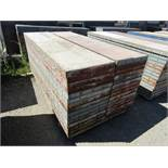 """(30) 24"""" x 8' Symons Steel Ply Forms"""