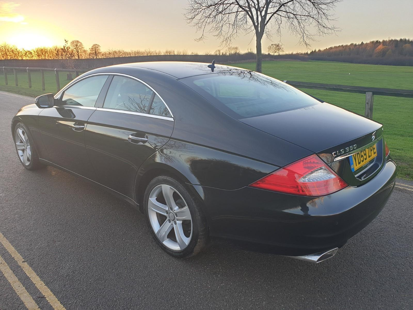 Lot 111 - 2009/59 REG MERCEDES-BENZ CLS350 CDI AUTO BLACK DIESEL COUPE, SHOWING 2 FORMER KEEPERS *NO VAT*