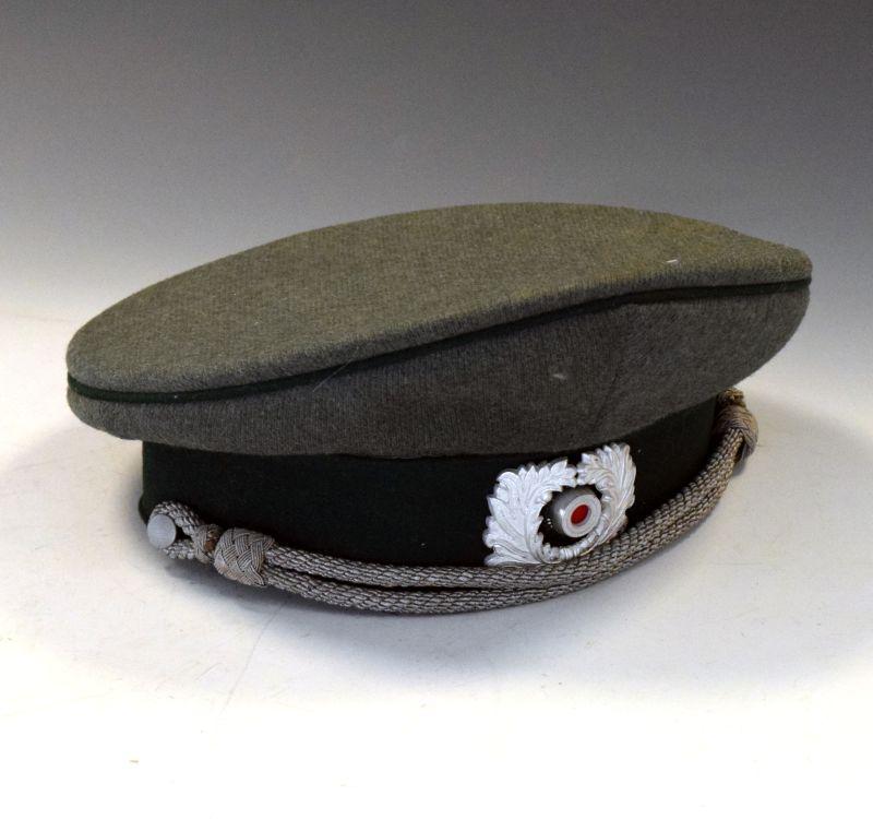 Lot 234 - German Third Reich Heer Army officers hat (Stirndruckfrei)