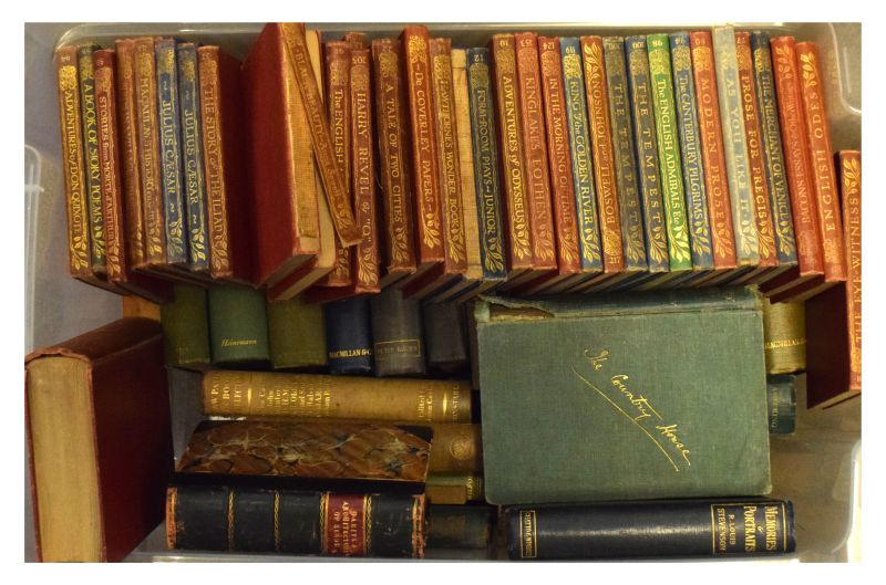 Lot 300 - Books - Large collection of approximately 40+ early 20th Century books comprising: group of The