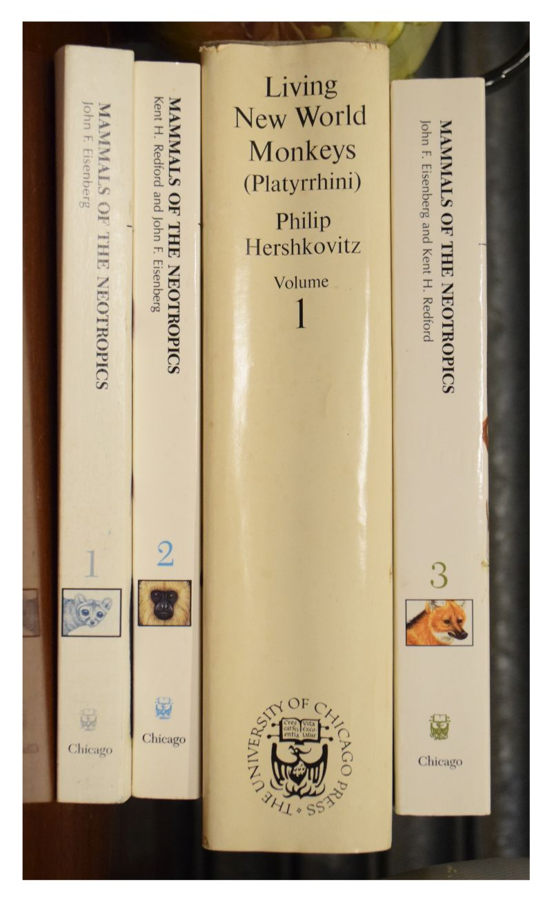 Lot 288 - Books - Four animal related books all published by The University of Chicago Press comprising:
