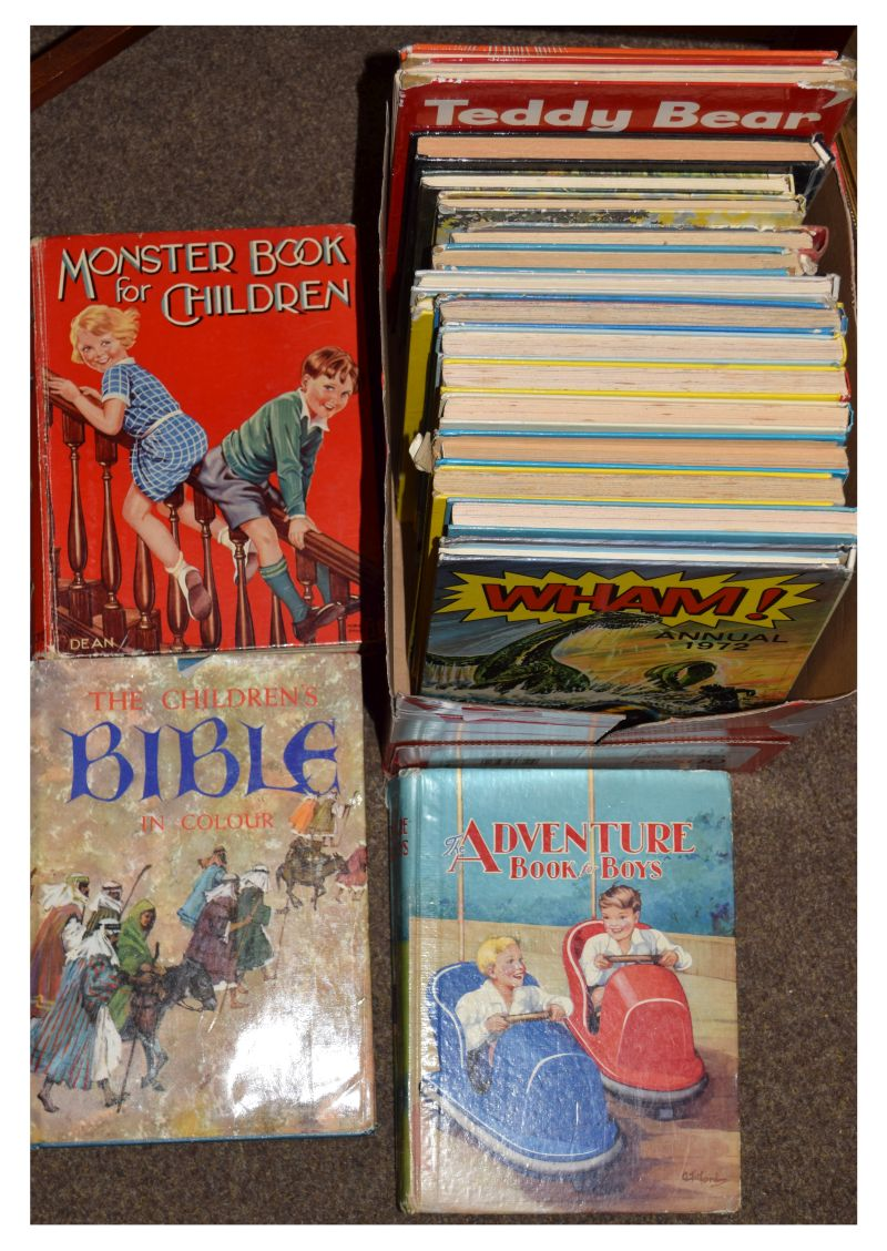 Lot 301 - Books - Group of approximately 19 children's books and annuals comprising: The Children's Bible In