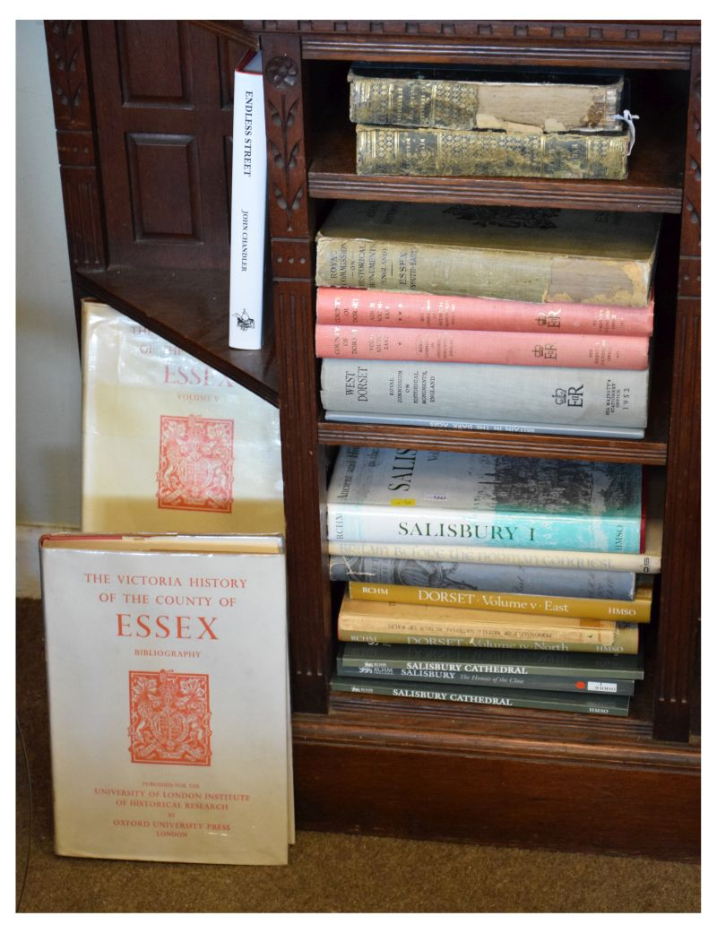 Lot 298 - Books - Group of approximately 19 books all relating to Salisbury, Dorset and Essex comprising: