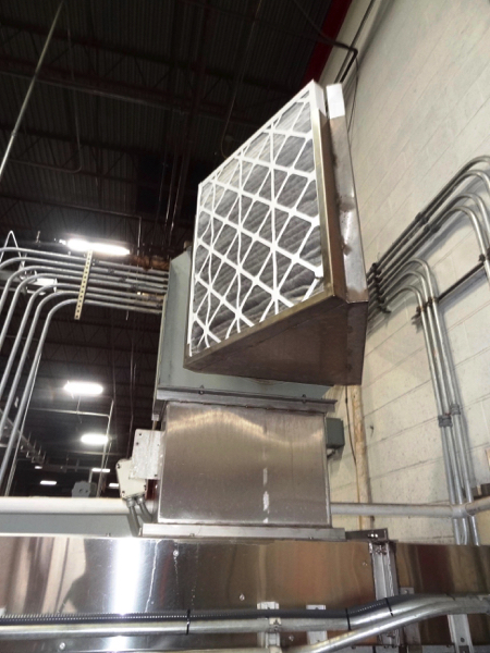 Ambec Air Conveyor System, 28mm, Includes Approximately 125' Intermediate Air Conveyor (All Floor - Image 3 of 8