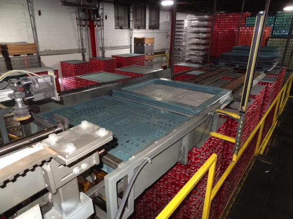 Seco Model 400-2D High Level Bulk Depalletizer, Z-Flow Narrow Side Leading with 30' Infeed Conveyor, - Image 5 of 11