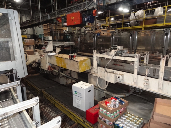 Standard Knapp Traymore Trayloader/Packer, Includes Nordson 3500 Glue Unit. | NOTE: This lot is - Image 2 of 9